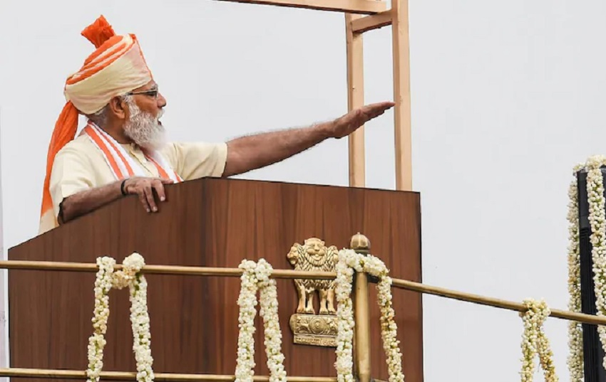 All 6 Lakh Villages To Be Connected With Optical Fibre In Next 1,000 Days: PM Modi On I-Day