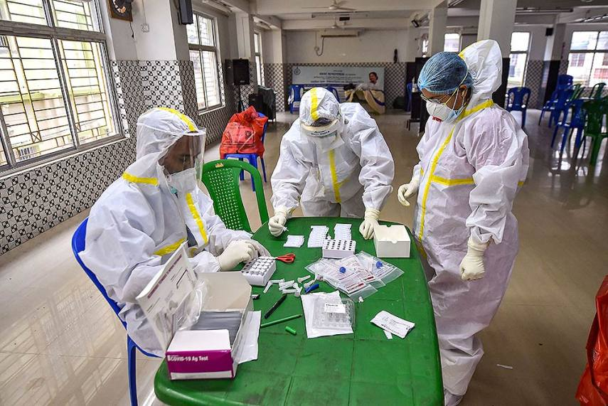 India Records 63,490 Fresh Cases Of Covid-19, Recovery Rate Rises ...