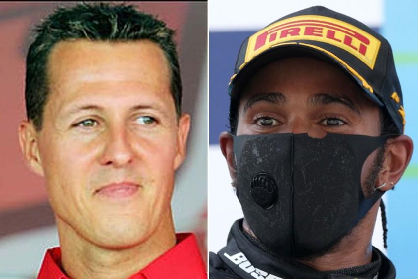 Lewis Hamilton Sets F1 Podium Record: How Mercedes Star Compares Michael Schumacher