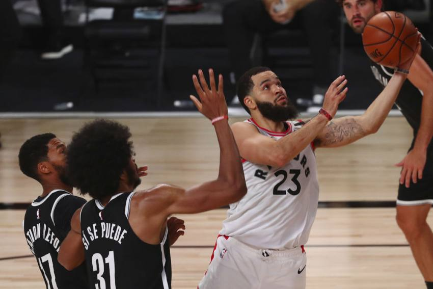 NBA Playoffs Results: VanVleet Stars As Raptors Draw First Blood, Kawhi And George Inspire Clippers