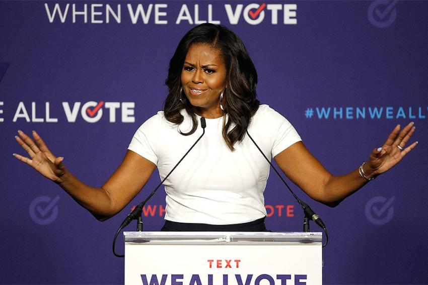 Donald Trump 'Wrong' President For US, Vote For Joe Biden: Michelle Obama