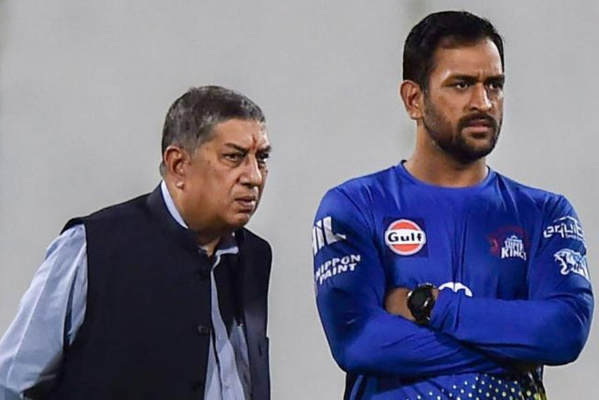 What More Is There For MS Dhoni To Achieve, Wonders Former BCCI President N Srinivasan