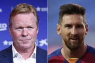 Ronald Koeman Plans Talks With 'Best In The World' Lionel Messi, Cautious On Barcelona Clearout
