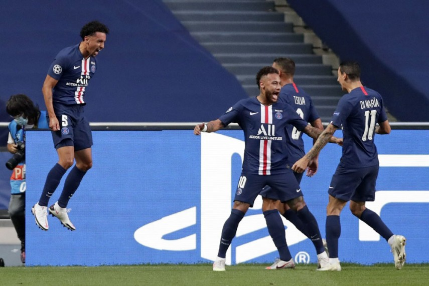 Rb Leipzig 0 3 Psg Angel Di Maria Shines As French Champions Reach First Champions League Final