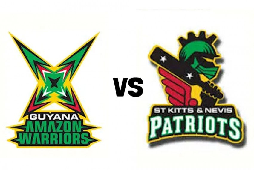 CPL 2020, 4th Match Live Streaming: How To Watch Guyana Amazon Warriors Vs St Kitts and Nevis Patriots Cricket Match Online And On TV