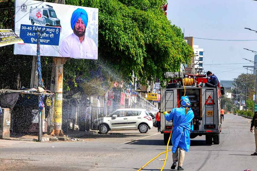 With Surge In Covid Cases, Punjab Imposes Daily Night Curfew From Tomorrow