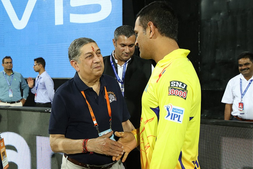 'M.S. Dhoni Doesn't Need  A Godfather'