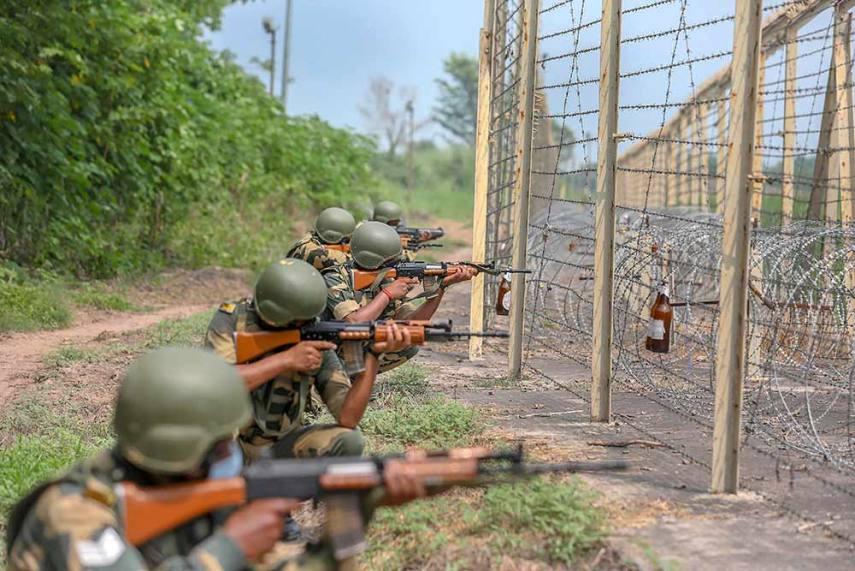 BSF Shoots Dead Five Intruders Along India-Pakistan International Border In Punjab