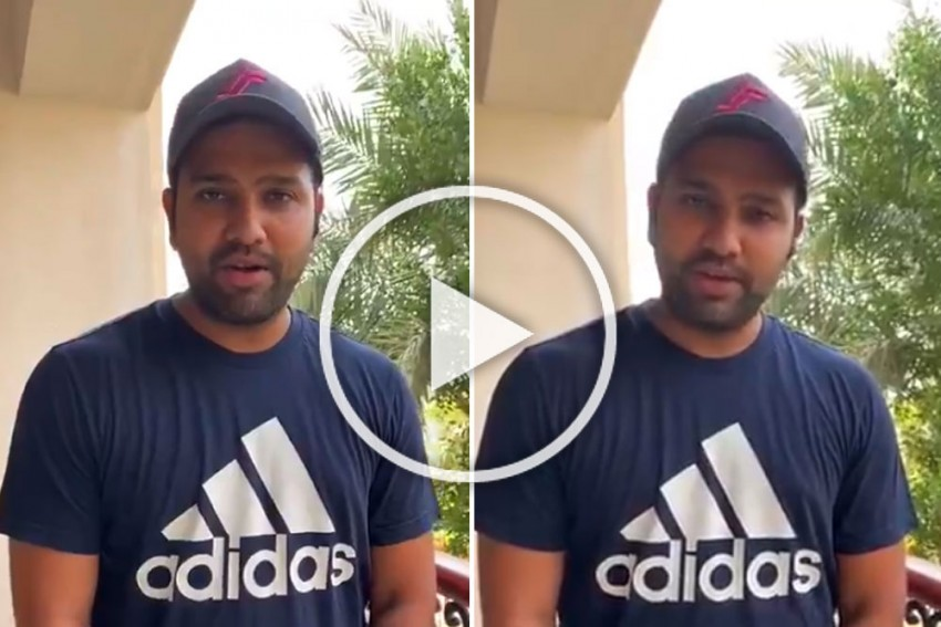 'Khel Ratna' Rohit Sharma Thanks Fans For Their Unwavering Support - Watch