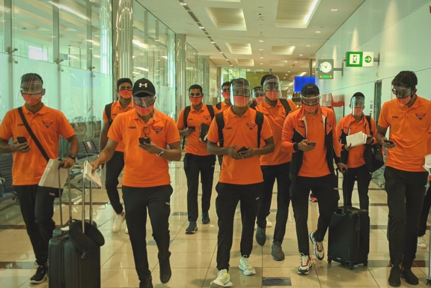 Ipl 2020 Delhi Capitals Sunrisers Hyderabad Last Teams To Land In Uae Photos And Videos