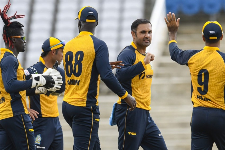 CPL 2020, Match 7 Report: Mohammad Nabi Stars In St Lucia Zouks' Win Over St Kitts and Nevis Patriots