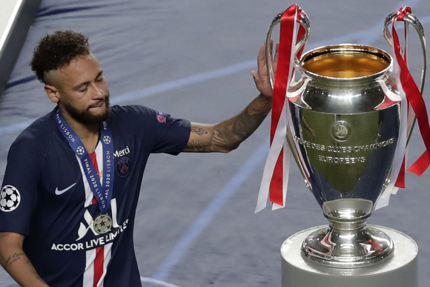 Champions League Final: PSG Boss Thomas Tuchel Defends Tearful Neymar, Kylian Mbappe