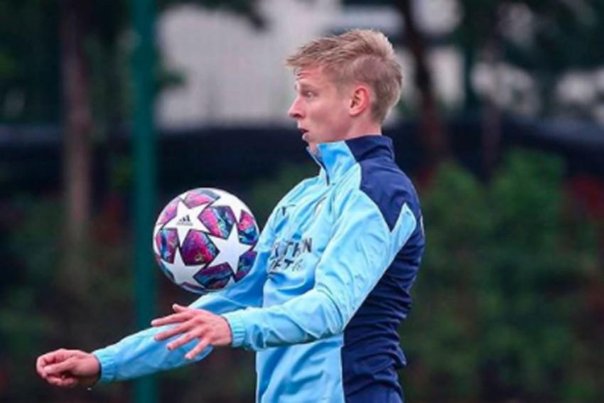 Oleksandr Zinchenko Distances Himself From Wife's Criticism Of Pep Guardiola