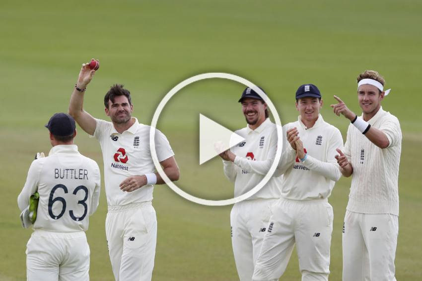 ENG Vs PAK, 3rd Test: James Anderson Becomes First Pacer To Take 600 Wickets - WATCH Historic Moment