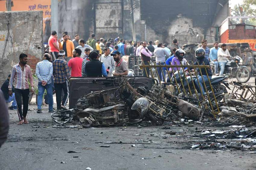 'Police Personnel Were Complicit And An Active Participant In Delhi Riots': Amnesty India Report