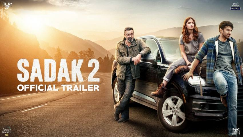 Ahead Of Film Release, 'Sadak 2' Trailer Becomes Second-Most Disliked Video On YouTube