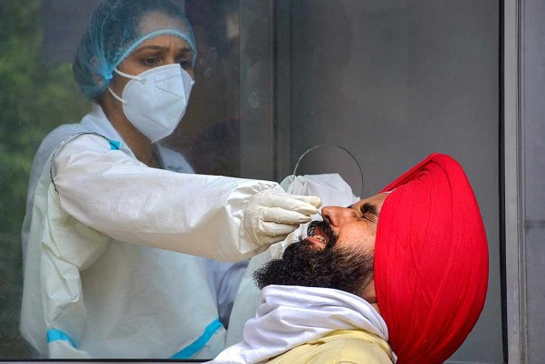 Number Of Coronavirus Tests Crosses 4-crore Mark In India