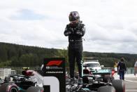 Belgian Grand Prix: Lewis Hamilton Storms To Spa Pole As Mercedes Lock Out Front Row
