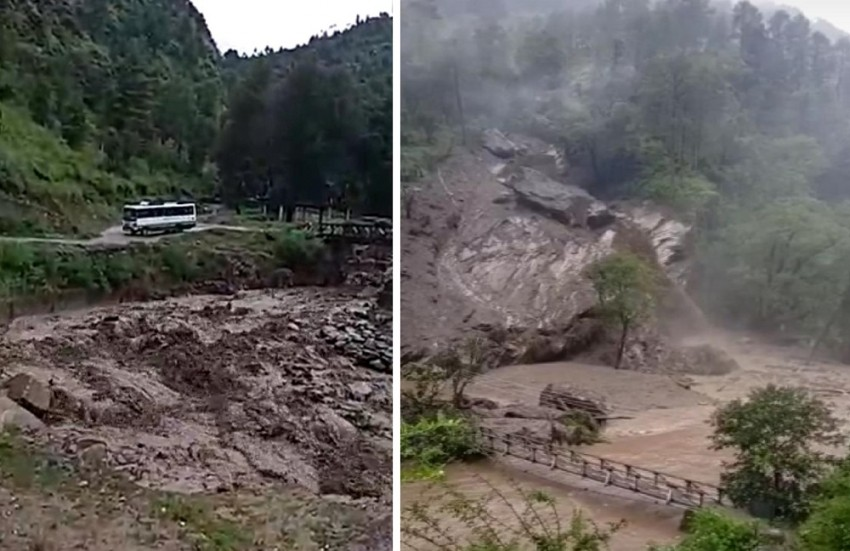 Monsoon Death Reaches 161 As Torrential Rains And Landslides Paralyse Himachal