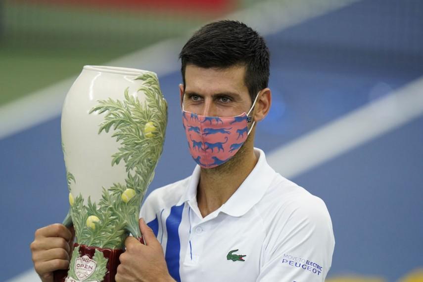 Novak Djokovic Claims Record Equalling 35th Atp Masters 1000 Title