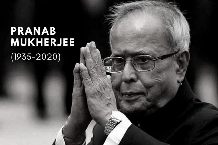 Former President Pranab Mukherjee Dies At 84