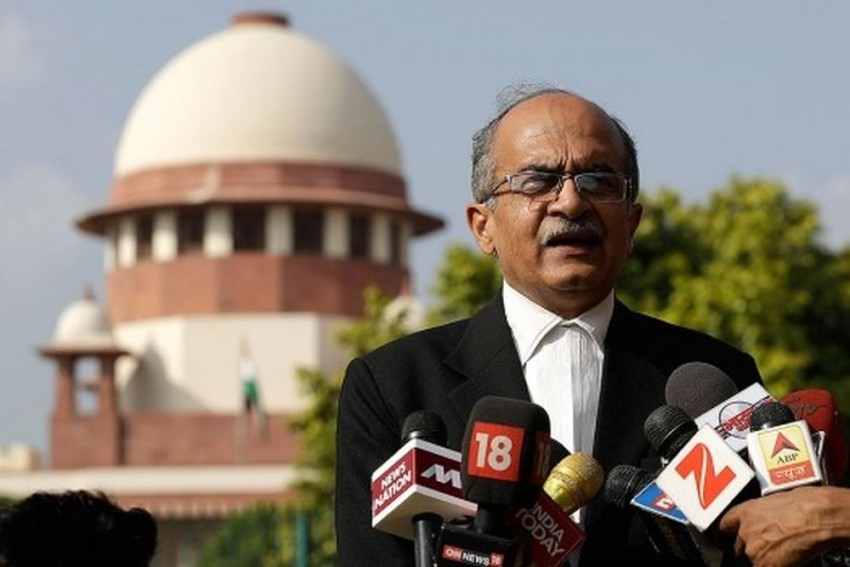 SC Fines Prashant Bhushan Re 1 In 2020 Contempt Case; 3-Month Jail If He Refuses
