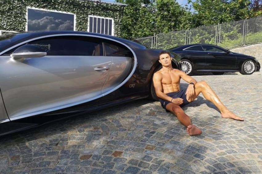 Cristiano Ronaldo Buys World's Most Expensive Car, A Bugatti La Voiture Noire