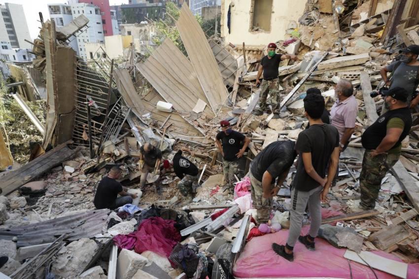 In Pictures: Lebanese Confront Devastation After Massive Beirut Explosion