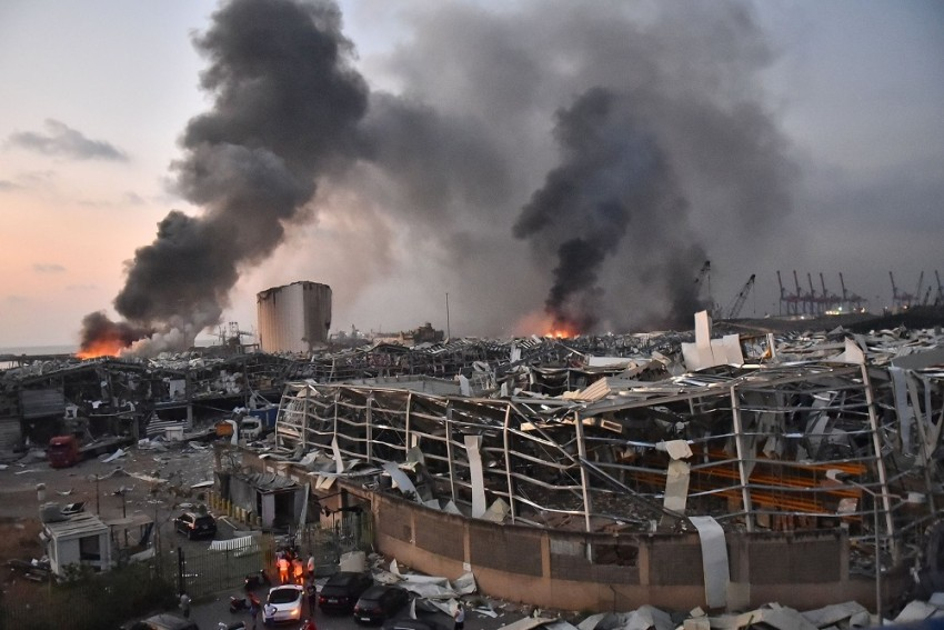 'Horror Show': Massive Blast Rocks Beirut, Death Toll Rises To 100; Cause Of Explosion Unknown
