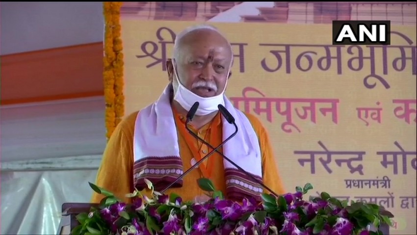 RSS, Other Like-minded Groups Worked For 30 Years For Ram Mandir: Mohan Bhagwat