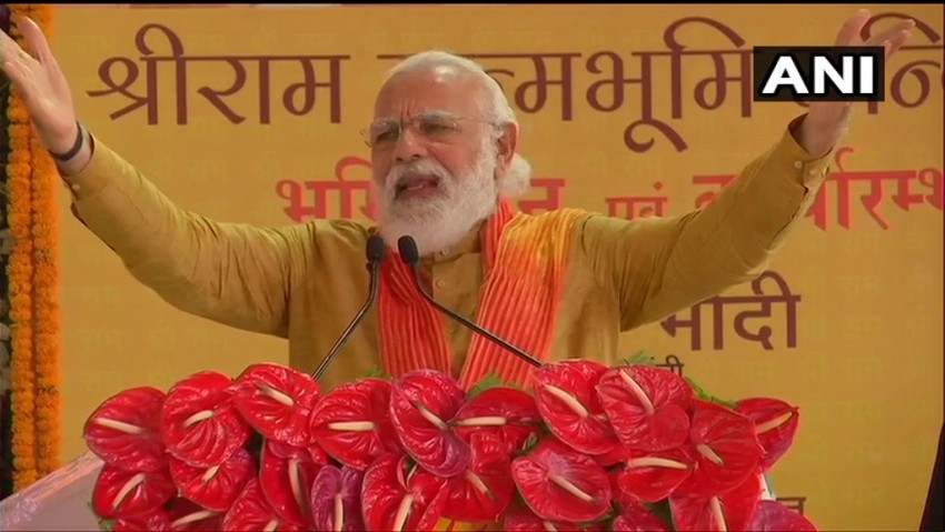 'Centuries Of Wait Ends, Now A Grand Temple For Lord Ram': PM Modi After 'Bhoomi Pujan'