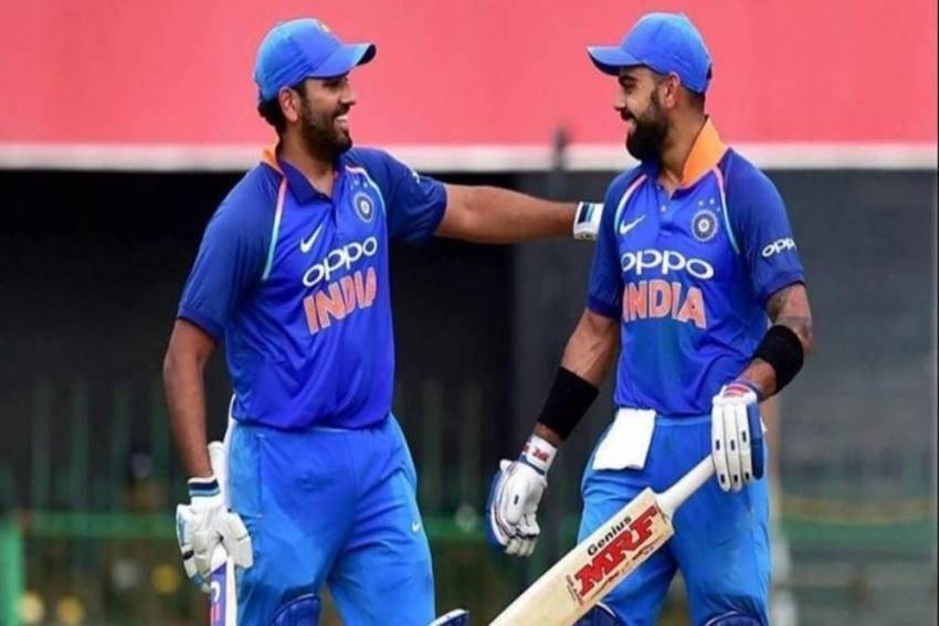 ICC ODI Rankings: Virat Kohli, Rohit Sharma Remain As Top Two Batsmen