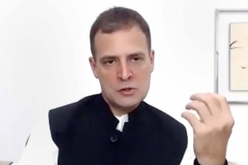 Lord Ram Ultimate Embodiment Of Human Values, Says Rahul As PM Lays Ram Mandir Foundation Stone