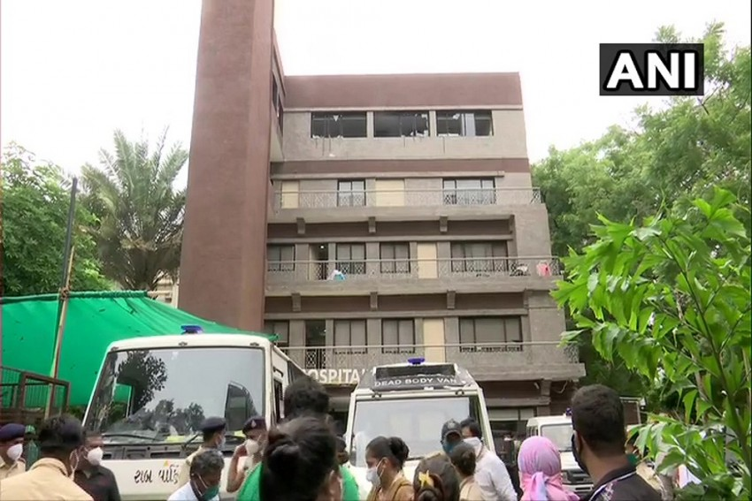 Fire Breaks Out At Covid Hospital In Ahmedabad, 8 Patients Dead