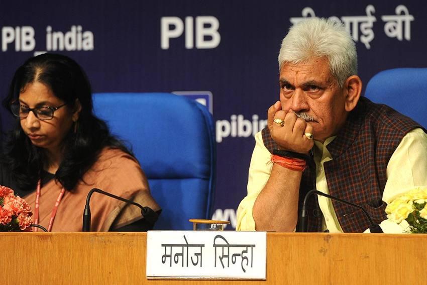 Manoj Sinha Appointed New J&K Lieutenant Governor After GC Murmu Resigns