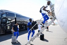 Champions League: N'Golo Kante In But No Willian As Chelsea Squad Land In Munich