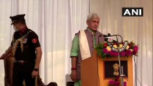 Former Union Minister Manoj Sinha Takes Oath As New Lt Governor Of Jammu And Kashmir