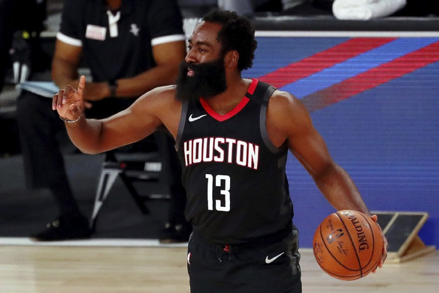 Nba Results James Harden Leads Rockets Past James Lebron Less Lakers Giannis Antetokounmpo Stars