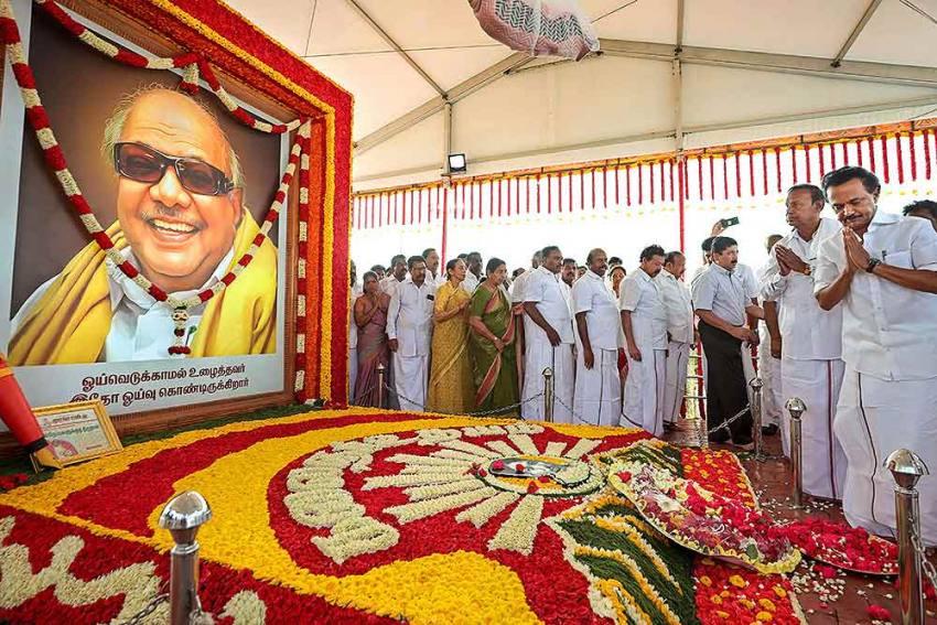 Karunanidhi's Long Shadow Still Looms Large Over DMK