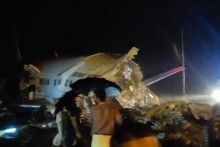 Air India Express Plane Skids Off Runway At Kozhikode Airport, Splits Into Two; Pilot Dead