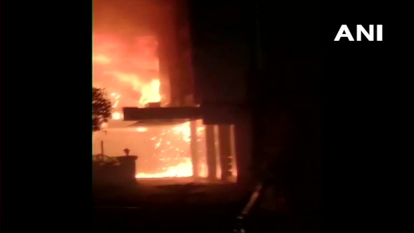 10 Patients Killed In Fire At Hotel Converted Into COVID Care Facility In Andhra Pradesh