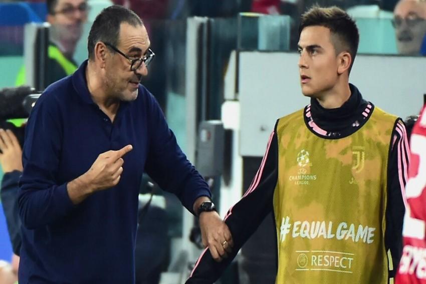 Paulo Dybala Thanks Former Boss Maurizio Sarri Following Major Changes At Juventus