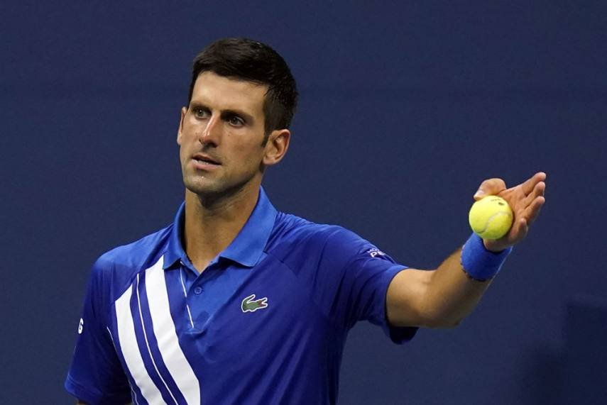 Us Open 2020 Novak Djokovic Hits Out At Serve Clock Changes