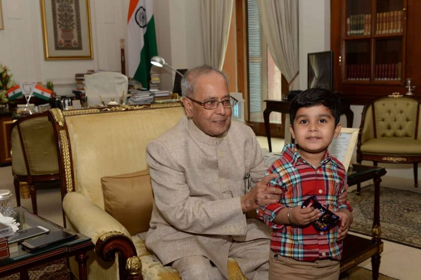 'Is Mr Pranab Mukherjee For Real?': A 7-Year-Old Shares His Experience