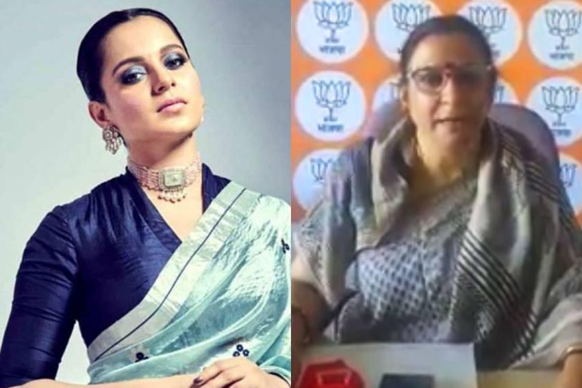 BJP Leader Threatens To Raze Priyanka Gandhi's Bungalow In Shimla After BMC Demolishes Kangana's Office
