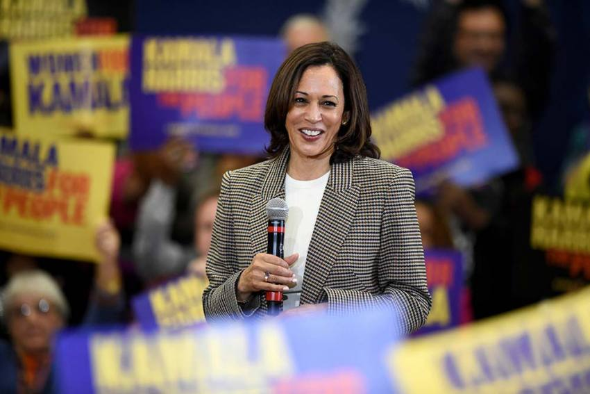 Inspired By Mother, Kamala Harris Says She Had To Do Something When 'So Much Is On The Line'