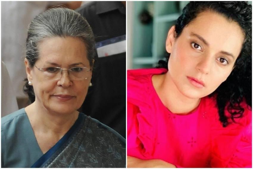 'History Will Judge Your Silence', Kangana Tells Sonia Gandhi