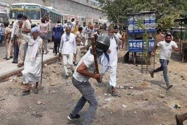 Haryana Farmers Booked For Protesting Against Centre's Ordinances Which Are  ' Anti-Farmer'