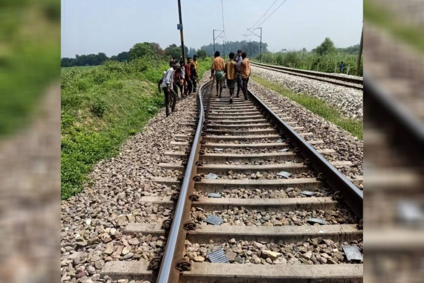 Train Tragedy Averted, Driver Not Informed Of Track Repair Work