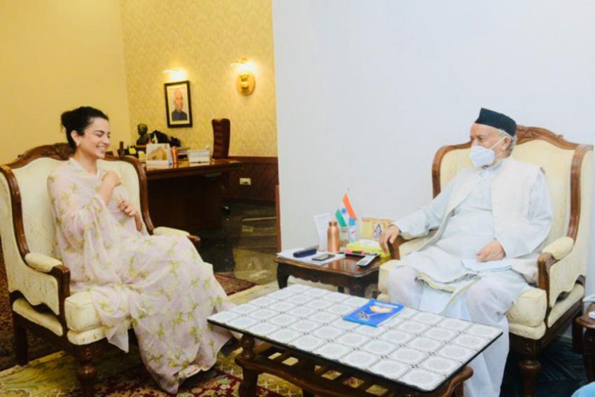 Kangana Meets Maharashtra Governor, Seeks Justice